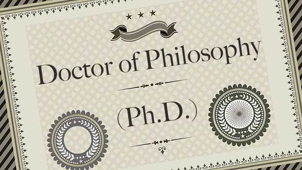 Вітаємо із присудженням наукового ступеня!